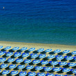 Horizontal beach geometry — Stock Photo