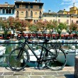 Stock Photo: Bicycle in Desenzano