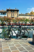 Bicycle in Desenzano — Stock Photo
