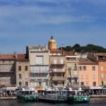 Saint Tropez quay 4 — Stock Photo #34925373