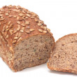 Stock Photo: Loafs of black bread