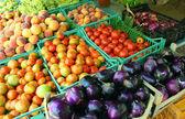 крестьянин средиземноморского рынка — Стоковое фото