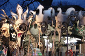 Venice masks on sale — Stock Photo