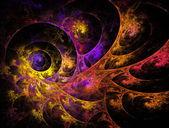 Fractal spiral — Stockfoto