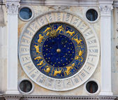 Zodiac clock in Venice — Foto Stock