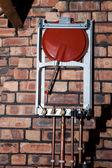 Boiler install — Stock Photo
