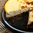 New York cheesecake — Stock Photo