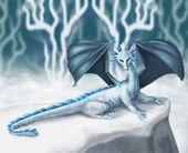 White Dragon — Stock Photo