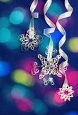 Paper snowflakes — Stock Photo