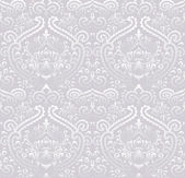 Naadloze vintage wallpaper patroon. — Stockvector