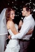 жених и невеста. — Стоковое фото