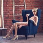 Woman sitting — Stock Photo #30189455
