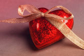 Red heart — Foto de Stock
