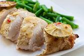 Petto di pollo al forno — Foto Stock