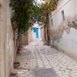 Narrow street in Sousse — Stock Photo