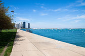 Summer day in Chicago — Stock Photo
