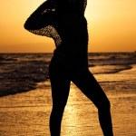 Woman silhouette — Stock Photo #13783062