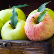Apple box - Stock Photo
