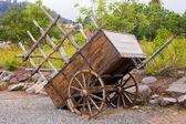 Old wagon — Stock Photo