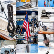 Nautical collage — Stock Photo