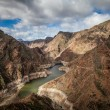 Dam in gran canaria - Stock Photo