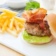 Bacon Burger — Stock Photo