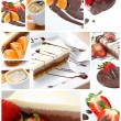 Stock Photo: Sweet collage
