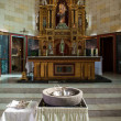 Church altar - Stock Photo