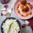 Meatballs and rice — Stock Photo #26263315