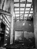 Porta de casa velha — Foto Stock
