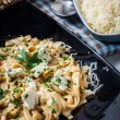 Parmesan pasta — Stock Photo