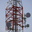 Stock Photo: Tower of antenna