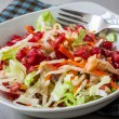 Pomergranate salad — Stock Photo