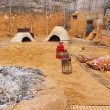 Stock Photo: Desert kitchen and oven