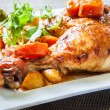 Chicken leg — Stock Photo #37834135