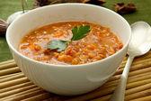 Lentil soup — Stock Photo