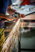 Cutting iron — Stockfoto