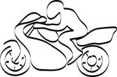 Motorcycle driver — Stock Vector