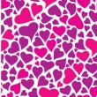 Color set heart pattern for Valentine — Stockvektor