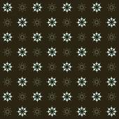 Geometriska mönster av blommor — Stockvektor
