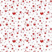 Love padlock pattern — Stock Vector