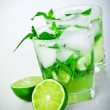 Cold mojito drink — Stock Photo #12528749