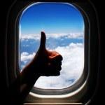 Airplane trip — Stock Photo #12692976