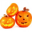 Halloween pumpkin background — Stock Photo #13848721