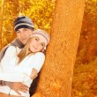 Loving couple in forest — Stock Photo #14028430