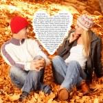 Love story — Stock Photo