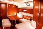 Luksusowe wnętrze statku — Zdjęcie stockowe
