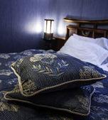 Luksusowa sypialnia — Zdjęcie stockowe