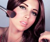 çekici kadın makeover — Stok fotoğraf