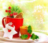Jul redskapet som — Stockfoto